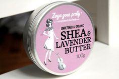 Organic Shea & Lavender Butter from Bulgarian brand ZOYA GOES PRETTY *ONCE UPON A CREAM Vegan Beauty Blog*