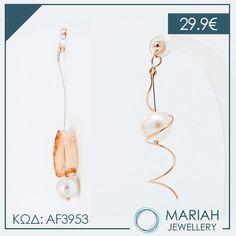 Διαχρονικά σκουλαρίκια με #μαργαριτάρι!!💜  💌Τα μαργαριτάρια ενισχύουν την σοφία και δρούν κατα της μελαγχολίας!  #mariahjewellery #mariah #jewellery #cathrene #angelobaretta #diaforoisxediastes Drop Earrings, Jewelry, Fashion, Moda, Jewlery, Jewerly, Fashion Styles, Schmuck, Drop Earring