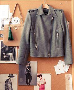 Jacket, Isabel Marant; Bag, Valentino
