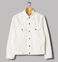 Made in Japan: OrSlow 60s Denim Jacket in white