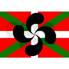 Sebastien has this Basque symbol tattoo. Basque Food, Bay Of Biscay, Memento, Basque Country, My Heritage, Coat Of Arms, Travel Posters, Family History, Painted Rocks