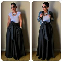 DIY maxi skirt tutorial except i dont know how to sew. Diy Maxi Skirt, Maxi Skirt Tutorial, Dress Skirt, Bow Skirt, Pleated Skirt, Gathered Skirt, Maxi Dress Tutorials, Taffeta Skirt, Beach Skirt