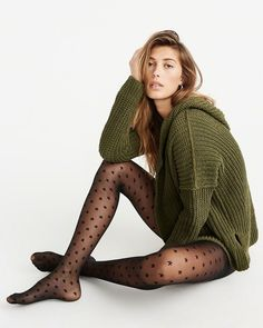 Shop for Black Star Tights by Abercrombie & Fitch at ShopStyle. Pantyhose Outfits, Pantyhose Fashion, Nylons And Pantyhose, Fashion Tights, Tights Outfit, Sheer Tights, Black Tights, Pantyhose Lovers, Quoi Porter
