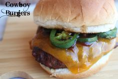 Cowboy Burgers feature the things Texans love: Texas Dry Rub, lots of melted cheese and sauteed jalapenos. Fire up the grill and watch them disappear #ad