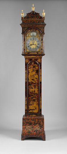 1730-1740 American (Massachusetts) Tall clock at the Metropolitan Museum of Art, New York