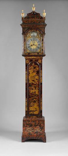 1730-1740 American (Massachusetts) Tall clock at the Metropolitan Museum of Art, New York