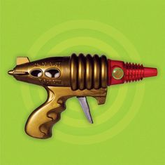 Space Pilot - X Ray Gun - space ray gun - image from TheLittleRobotShop on etsy