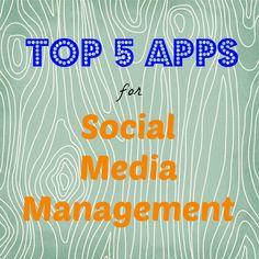 top 5 apps for social media management