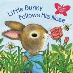 Amazon.com: Little Bunny Follows His Nose (Scented Storybook) (9780375826443): Katherine Howard, J.P. Miller: Books
