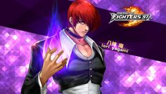 Iori Yagami - KOF'97 OL HD Wallpaper by Zeref-ftx on DeviantArt