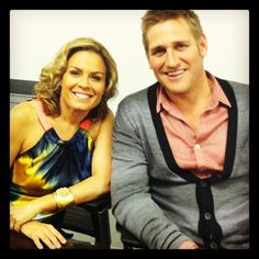 Cat Cora and Curtis Stone. Hosts of 80 plates around the world.