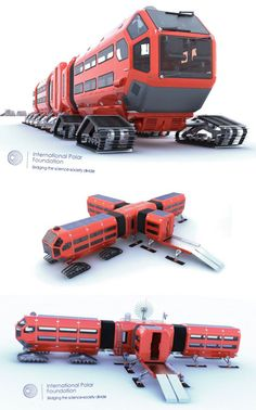 Matthieu Tarrit Polar Vehicle
