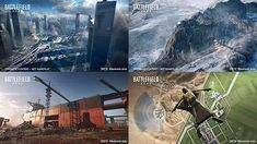 Battlefield 2042 Maps On Release: One of Battlefield's biggest attractions along with everything else is the maps and what we have seen so far the release maps for Battlefield 2042 look amazing. Battlefield Games, Tornadoes, Epic Art, Antarctica, Water Crafts, West Coast, Singapore, Egypt, Skyscraper