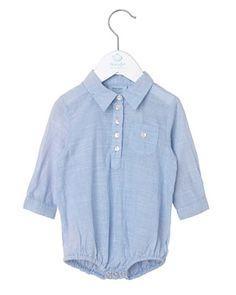 Noa Noa miniature, Body Shirt, Baby Blue