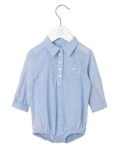 Noa Noa miniature, Body Shirt, Baby Blue