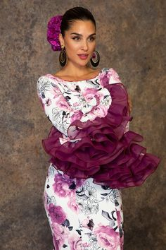 Floral Fashion, Fashion Dresses, Havanna Party, Beyonce, Kim Kardashian, Versace, African Blouses, Spanish Dancer, Spain Fashion