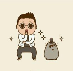 Grumpy Cat Dancing Gif Pusheen Stuff