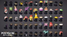 POLYGON - Battle Royale Pack – Synty Store