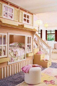 I wish my sis and I had this room when we were little and I would still have it if it were zerbra