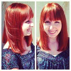 Beautiful hair colour from Organic Colour Systems #vegan #organiccolour #haircolour