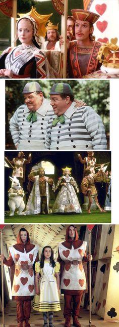 Hallmark's 1999 movie Alice in Wonderland. Love this version...very true to the stories by Lewis Carroll.