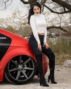 It's #TTTuesday and #TushyTuesday all in one with Ignantt's booty out in full force! @kdubauto got this great shot with @nastasia_gd for the @gearheadshowgirls signature series shoot  . . . #tooshietuesday #vossen #audi #auditt #auditts #audittrs #audittrs #ttrs #audirs3 #rs3 #audirs4 #rs4 #audirs5 #rs5 #rs6 #audirs7 #rs7 #audir8 #r8 #becausebags #slammed #lowered #bagged #airride #redcar #turbo #model #modeling