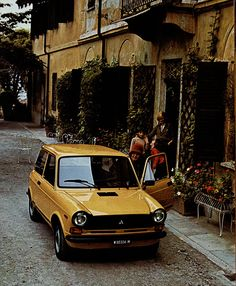 Autobianchi - My first car :-)