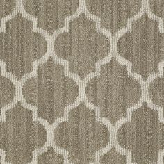 STAINMASTER Active Family Rave Review Cliff Edge Berber/Loop Interior Carpet