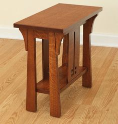 Cantebury End Table Occasionals End Tables - Quality Heirloom, Occasional Furniture, Handcrafted American Made - Wholesale Furniture - Furniture Manufacturers Diy End Tables, Wood End Tables, Wood Table, A Table, Table Legs, Side Tables, Coffee Tables, Craftsman Style Furniture, Mission Style Furniture