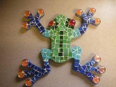 Annie's Art - Mosaic Tree Frog