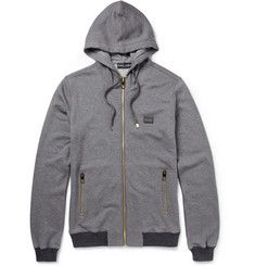 Dolce & GabbanaCotton and Cashmere-Blend Hoodie