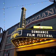 Sundance Film Festival ~ would love to go again!  Park City was my favorite hang out.