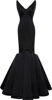 Zac Posen Stretch Duchess Gown - Lyst      jaglady