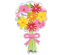 #burtonandburton Give your mom a different kind of floral bouquet this Mother's Day! #balloon #mothers_day_balloons