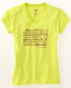 running shirts for women with clever sayings | Tees Celebrate 40 Years of Title IX