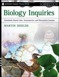 Biology Inquiries offers educators a handbook for teaching middle and high school students engaging lessons in the life sciences. Inspired by the National Science Education Standards, the book bridges Biology Classroom, Biology Teacher, Ap Biology, Teaching Biology, Classroom Resources, Classroom Ideas, High School Biology, High School Science, Life Science