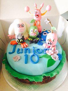 My singing monsters cake