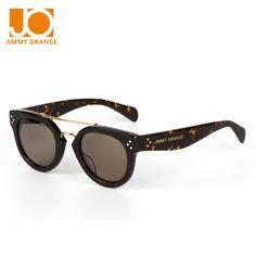 4abf465cc6 Click to Buy    Jimmy orange summer retro cat eye round sunglasses for