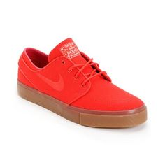 pretty nice c8dae 77128 Take a walk in this pros shoes in the Nike Zoom Stefan Janoski skate shoe  in the Hyper Red Sail colorway. The Stefan Janoski signature skate shoes  feature a ...