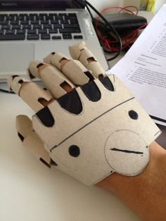 Automail Gauntlet (Cardboard) 1 by alagon1 on deviantART