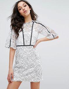 River Island - Kleid mit Blumenmuster und Zierausschnitten - Mehrfarbig Jetzt bestellen unter: https://mode.ladendirekt.de/damen/bekleidung/kleider/sonstige-kleider/?uid=1e3f894a-7bcb-5055-bd69-d8de83935298&utm_source=pinterest&utm_medium=pin&utm_campaign=boards #sale: #sale #sonstigekleider #kleider #female #markenkleider #bekleidung Bild Quelle: asos.de