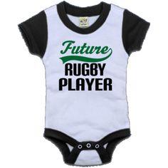 Future Rugby Player onsie!