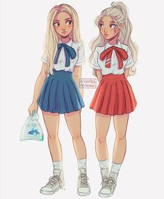 Re-draw add credit and make into me and bff Best Friend Drawings, Bff Drawings, Cartoon Drawings, Cartoon Art, Realistic Drawings, Fashion Sketches, Art Sketches, Loona Kim Lip, Itslopez