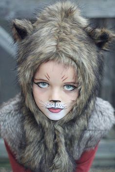 Wolf Halloween Makeup For Kids