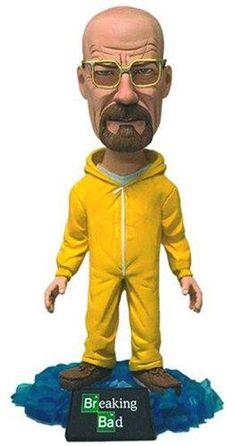 "Breaking Bad Bobblehead Walter 6"" Action Figure - http://coolgadgetsmarket.com/breaking-bad-bobblehead-walter-6-action-figure-4/"