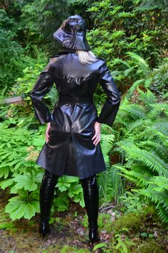 Pvc Raincoat, Rain Gear, Love To Meet, Goth, Girls, How To Wear, Vintage, Beauty, Collection