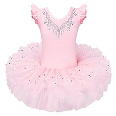 Ballet Tutu, Girls Ballet Dress, Ballet Leotards For Girls, Ballet Clothes, Dance Leotards, Ballet Dance, Pink Leotard, Girl Costumes, Party Costumes
