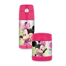 Thermos® Funtainers™ BPA Free Minnie Mouse Food Jar and Beverage Bottle