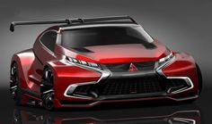 Mitsubishi Concept XR-PHEV Evolution Vision Gran Turismo is the third car which is to be featured in Gran Turismo 6 game. Mitsubishi Lancer Evolution, Mitsubishi Eclipse, Subaru Impreza Wrx, Automobile, Mitsubishi Motors, Auto Motor Sport, Pt Cruiser, Futuristic Cars, Custom Cars