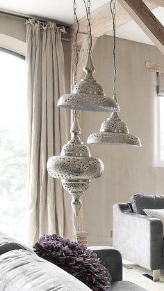 #prontowonen #droomwoonkamer Hanglamp Radja | Voor meer informatie kijkt u op www.prontowonen.nl #ProntoWonen #verlichting #lampen #interieur #inspiratie